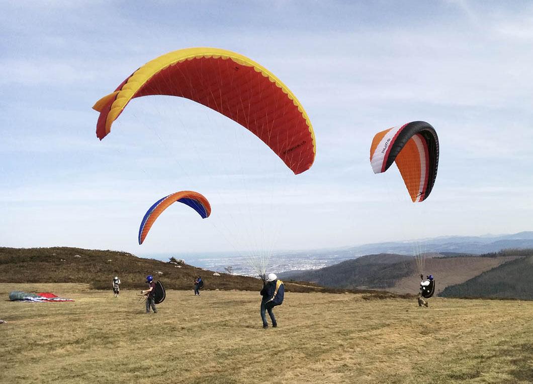 Club Parapente Ferrol, tu club de vuelo en Galicia.